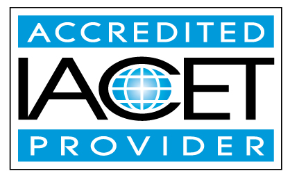 IACET accredited provider to offer continuing education units, CEUs