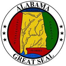 The great seal of the State of Alabama