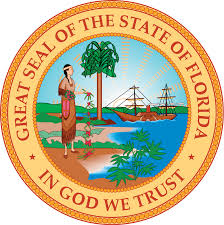 The great seal of the State of Florida