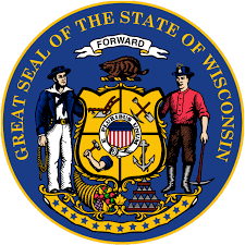 The great seal of the State of Wisconsin