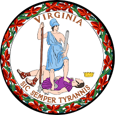 The great seal of the Commonwealth of Virginia