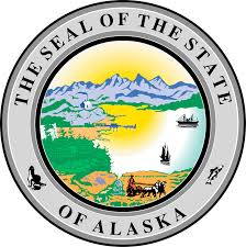The great seal of the State of Alaska