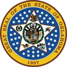The great seal of the State of Oklahoma