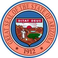 The great seal of the State of Arizona
