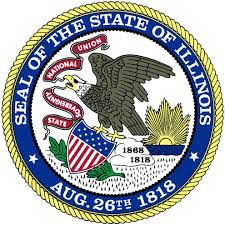 The great seal of the State of Illinois