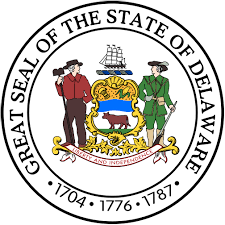 The great seal of the State of Delaware