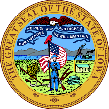 The great seal of the State of Iowa