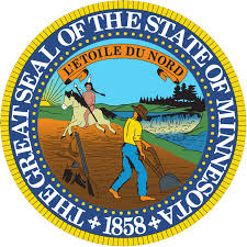 The great seal of the State of Minnesota