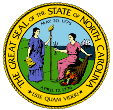 The great seal of the State of North Carolina