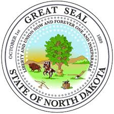 The great seal of the State of North Dakota