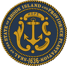 The great seal of the State of Rhode Island