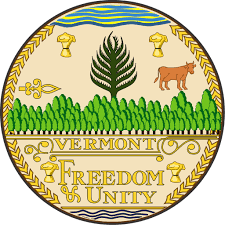 The great seal of the State of Vermont