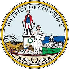 The great seal of the Washington, District of Columbia
