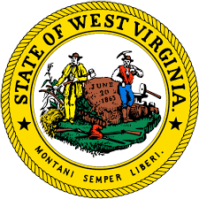 The great seal of the State of West Virginia