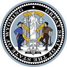 The great seal of the State of Wyoming